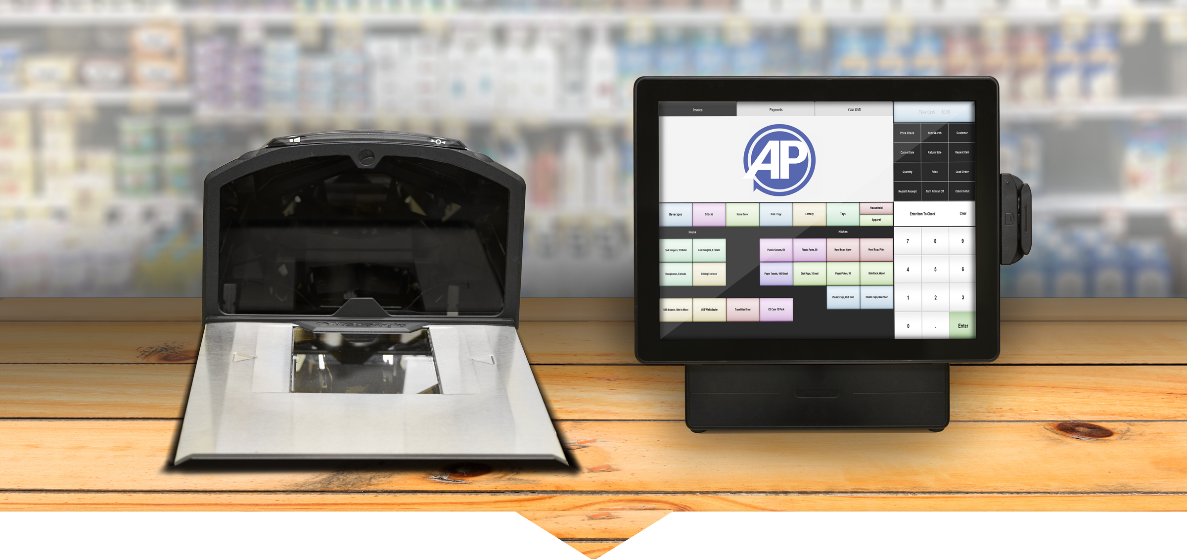 Convenience POS and Scale